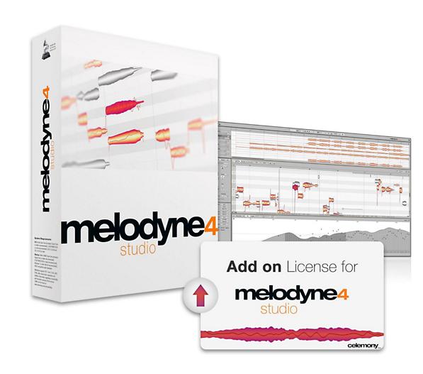 Melodyne Studio 4 add-on License