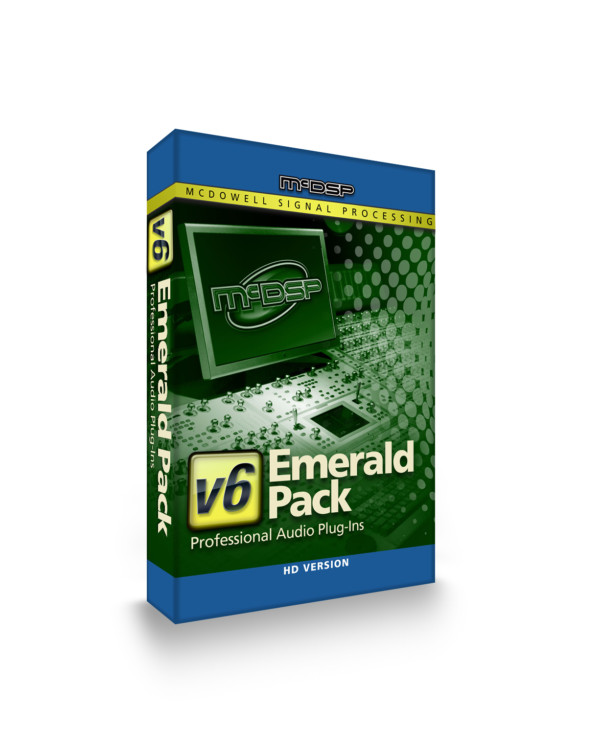 McDSP Emerald Pack HD v6 Plug-in Bundle
