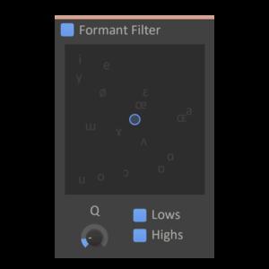 Formant Filter