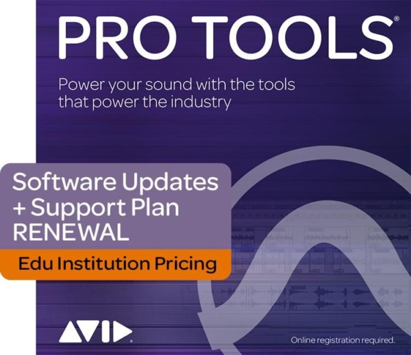 Pro Tools Update and Support Plan Student