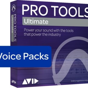 Avid Pro Tools Ultimate - 768 Voice Pack Perpetual License