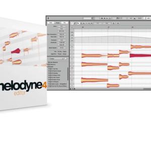 Celemony Melodyne 4 editor - Upgrade from Melodyne editor