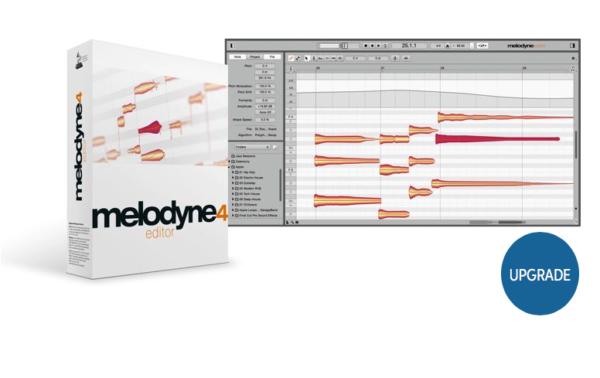 Celemony Melodyne 4 editor - Upgrade from Melodyne essential
