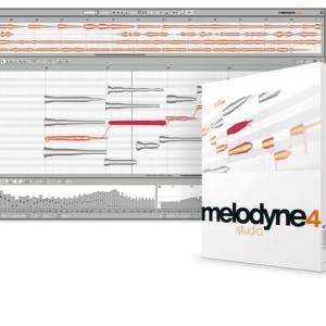 Celemony Melodyne 4 studio - Upgrade from Melodyne studio 3
