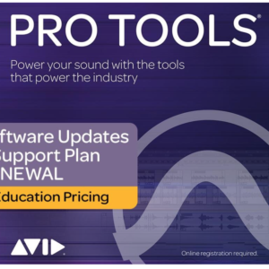 Pro Tools Teachers/Student 1 Yr Subscription