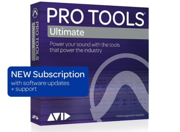 Pro Tools ¦ Ultimate 1 Year Subscription