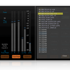 VisLM-C2 Loudness Meter