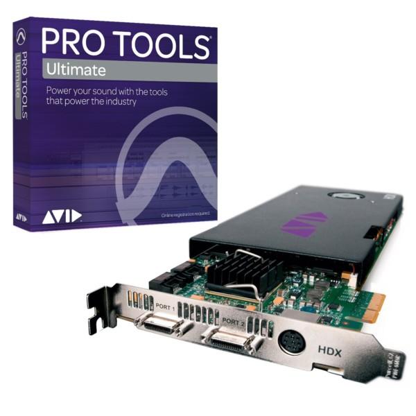 Pro Tools ¦ Ultimate   Pro Tools HDX Core Bundle