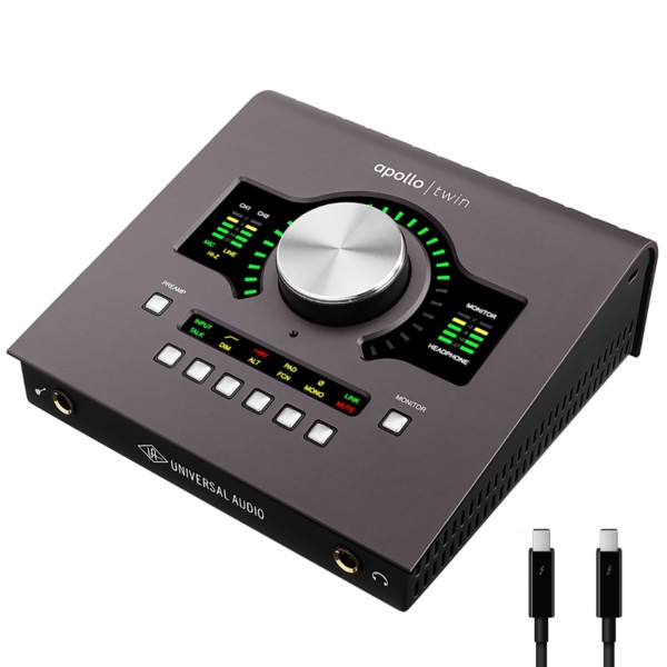 Universal Audio Apollo Twin MKII DUO 2x6 Thunderbolt Audio Interface with UAD DSP