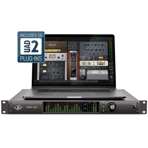 UNIVERSAL AUDIO APOLLO X16 18X20 THUNDERBOLT 3 RECORDING INTERFACE