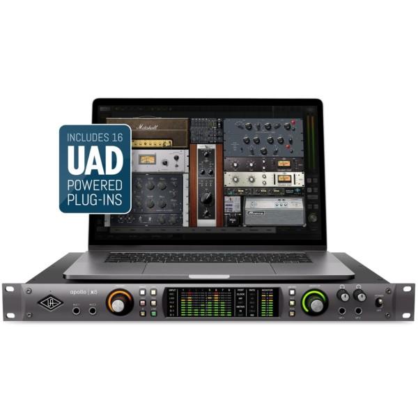 UNIVERSAL AUDIO APOLLO X8 18X24 THUNDERBOLT 3 RECORDING INTERFACE